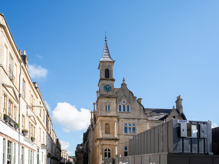 View of Bluecoat House in Bath