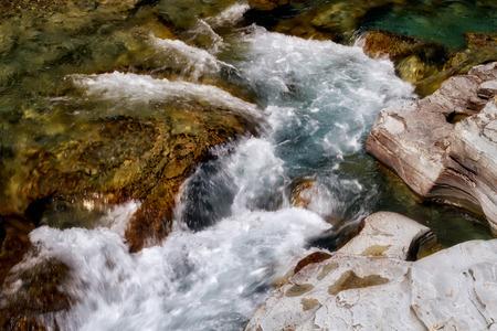 Mc Donald Creek in Glacier National Park