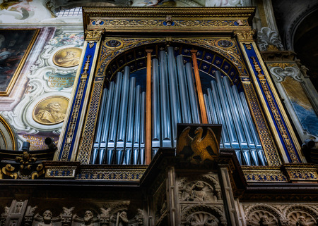monza: Organ in the Cathedral (duomo) in Monza