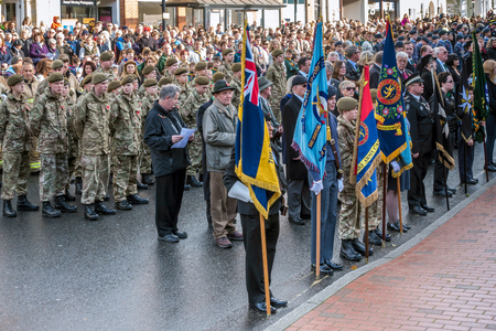 grinstead: Memorial Service on Remembrance Sunday in East Grinstead