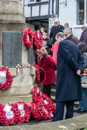 Memorial Service on Remembrance Sunday in East Grinstead