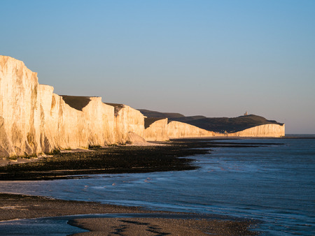 sussex: The Seven Sisters and River Cuckmere Estuary in Sussex