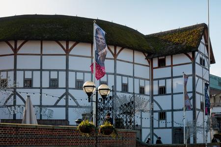 globe theatre: View of the Globe Theatre
