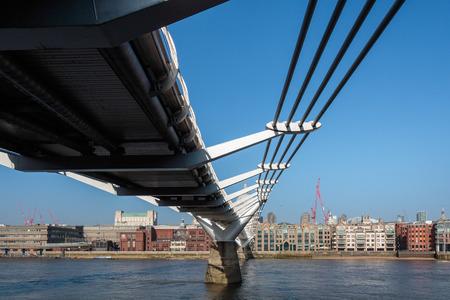 Millennium Bridge and St Pauls Cathedral