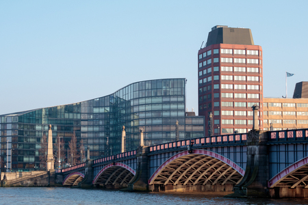 View of Lambeth Bridge and the Buildings nearby