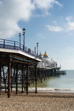 View of the Pier in Eastbourne Editorial