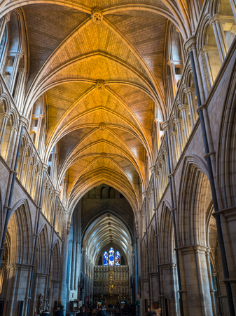 southwark: Interior View of Southwark Cathedral Editorial
