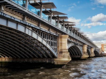 View of Blackfriars Bridge Stock Photo