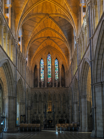 Interior View of Southwark Cathedral Editorial