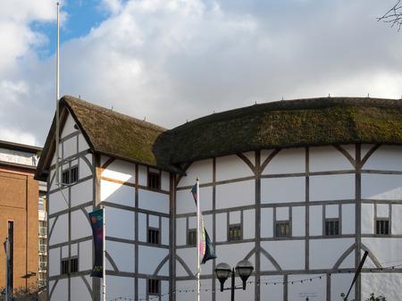 globe theatre: The Globe Theatre in London
