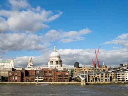st pauls: View of the Historic London Skyline