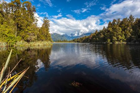 Scenic View of Lake Matheson
