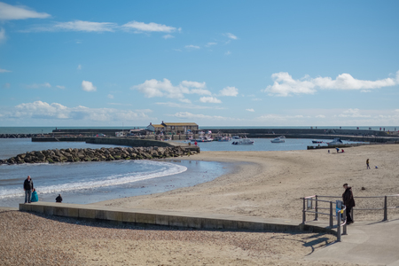 View of the Beach at Lyme Regis