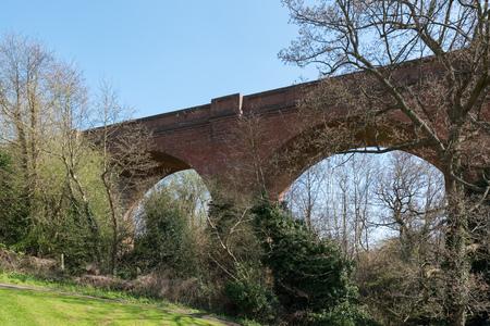 grinstead: Bluebell Railway Viaduct at East Grinstead