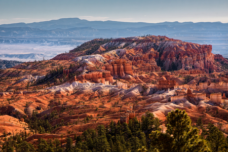 Vista panoramica di Bryce Canyon Sud Utah USA Archivio Fotografico - 76415419