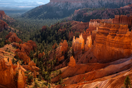 Scenic View into Bryce Canyon
