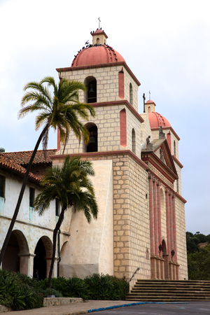 The Mission in Santa Barbara California