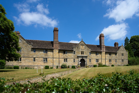 almshouse: EAST GRINSTEAD, WEST SUSSEXUK - JUNE 17 : Sackville College in East Grinstead on June 17, 2017