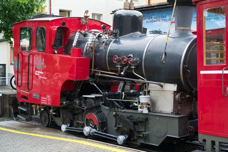 The Schafbergbahn Cog Railway in St Wolfgang