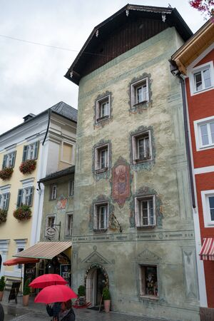 Old Decorated Building in St Wolfgang