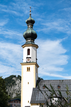 giles: Church of Saint Giles in St Gilgen