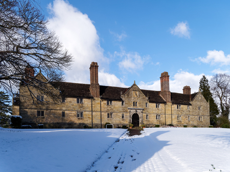 EAST GRINSTEAD, WEST SUSSEXUK - FEBRUARY 27 : Sackville College in East Grinstead on February 27, 2018