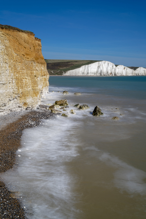 View of the Sussex Coastline from Hope Gap