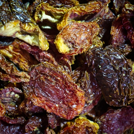 Dried fruit for sale in the Grand Bazaar in Istanbul Turkey