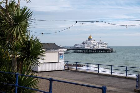 EASTBOURNE, EAST SUSSEX/UK - NOVEMBER 4 : View of Eastbourne Pier in East Sussex on November 4, 2018