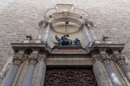 The church of San Martín Obispo and San Antonio Abad in Valencia Spain