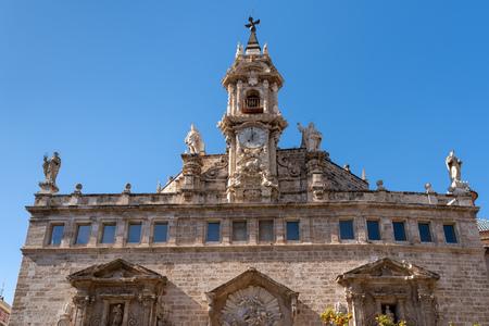 Royal Parish Church of St John in Valencia Spain Imagens