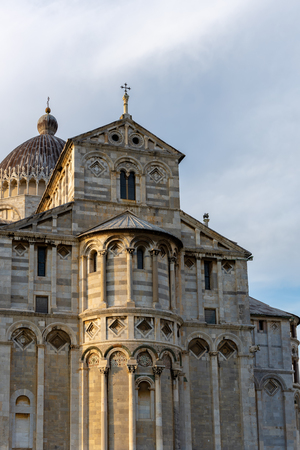 Exterior view of the Cathedral  in Pisa Liguria Italy