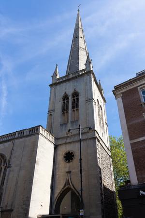View of St Nicholas Church in Bristol