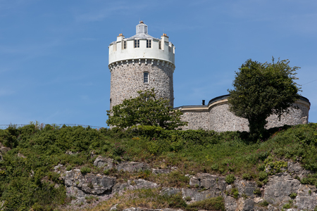 View of Clifton Observatory in Bristol