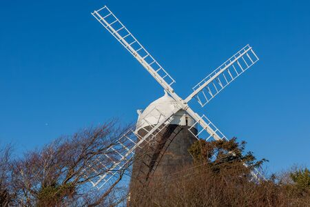 CLAYTON, EAST SUSSEX/UK - JANUARY 3 : Jack Windmill on a winter's day in Clayton East Sussex on January 3, 2009