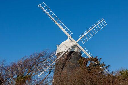 CLAYTON, EAST SUSSEX/UK - JANUARY 3 : Jack Windmill on a winter's day in Clayton East Sussex on January 3, 2009