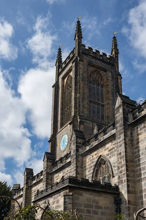 EAST GRINSTEAD, WEST SUSSEX/UK - AUGUST 30 : St Swithun's Church in East Grinstead West Sussex on August 30, 2019