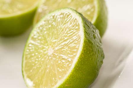 Closeup on lime photo