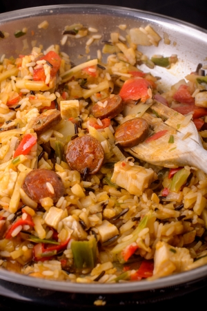 cajun jambalaya photo
