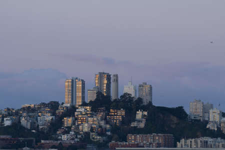 coit tower: Telegraph Hill, San Francisco (with Coit Tower)