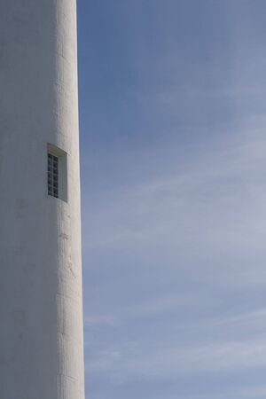 Lighthouse window. photo