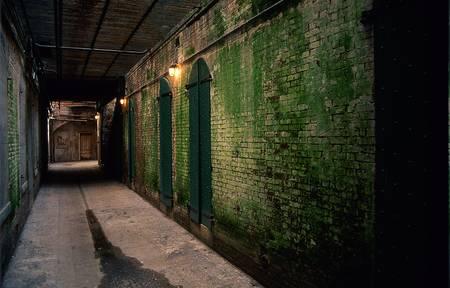 dank: Alcatraz corridor