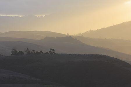 layered landscape Banco de Imagens