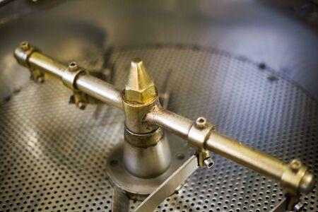 coffee roaster detail