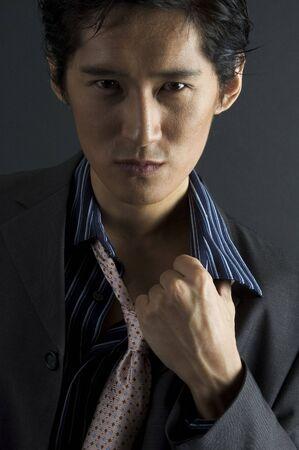 japenese: un modelo asi�tico en la ropa ocasional elegante
