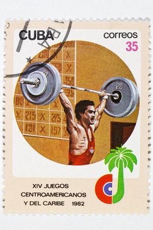 caribe: postage stamp dedicated to the championship of the bar  Caribe 1982