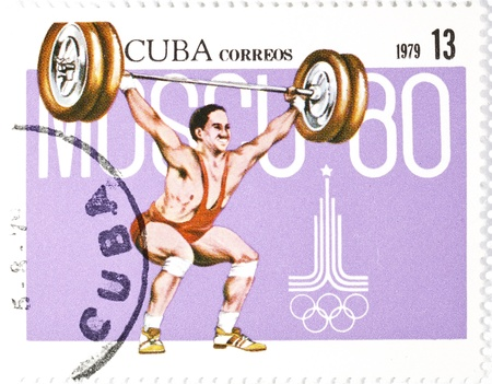 olympiad: postage stamp dedicated to the championship of the bar Cuba 1979