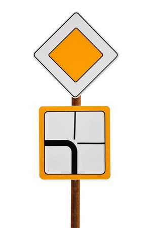 trafic stop: road sign
