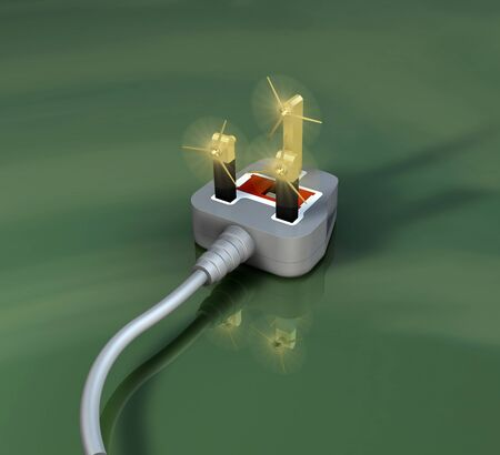 Alternative energy electrical power photo