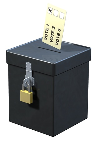 Ballot box Stock Photo - 12330233